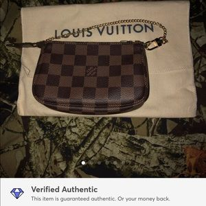 NEW authentic louis vuitton mini pochette